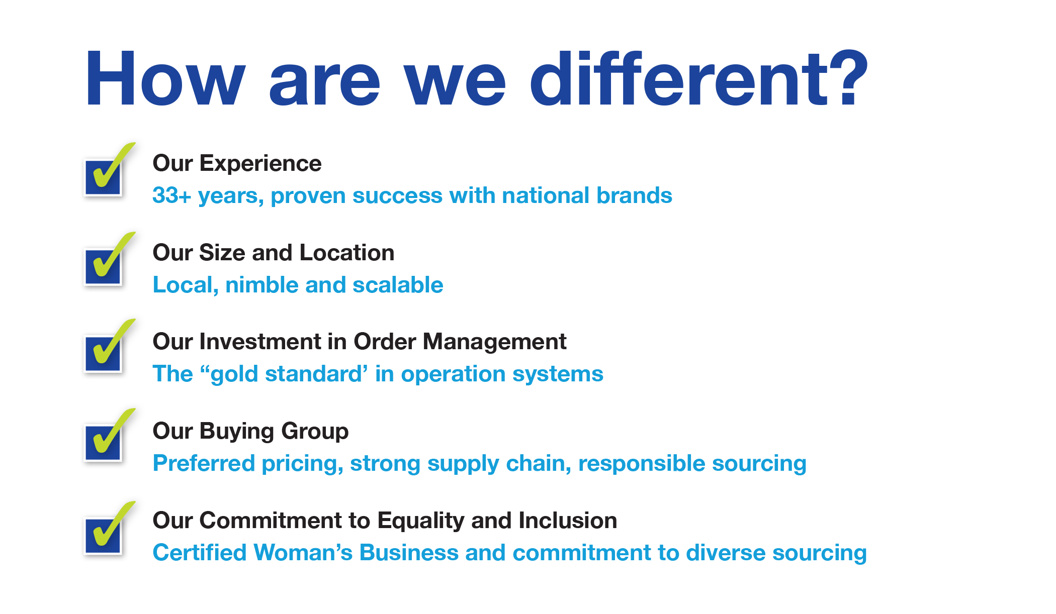 how we are different_callard promotional products