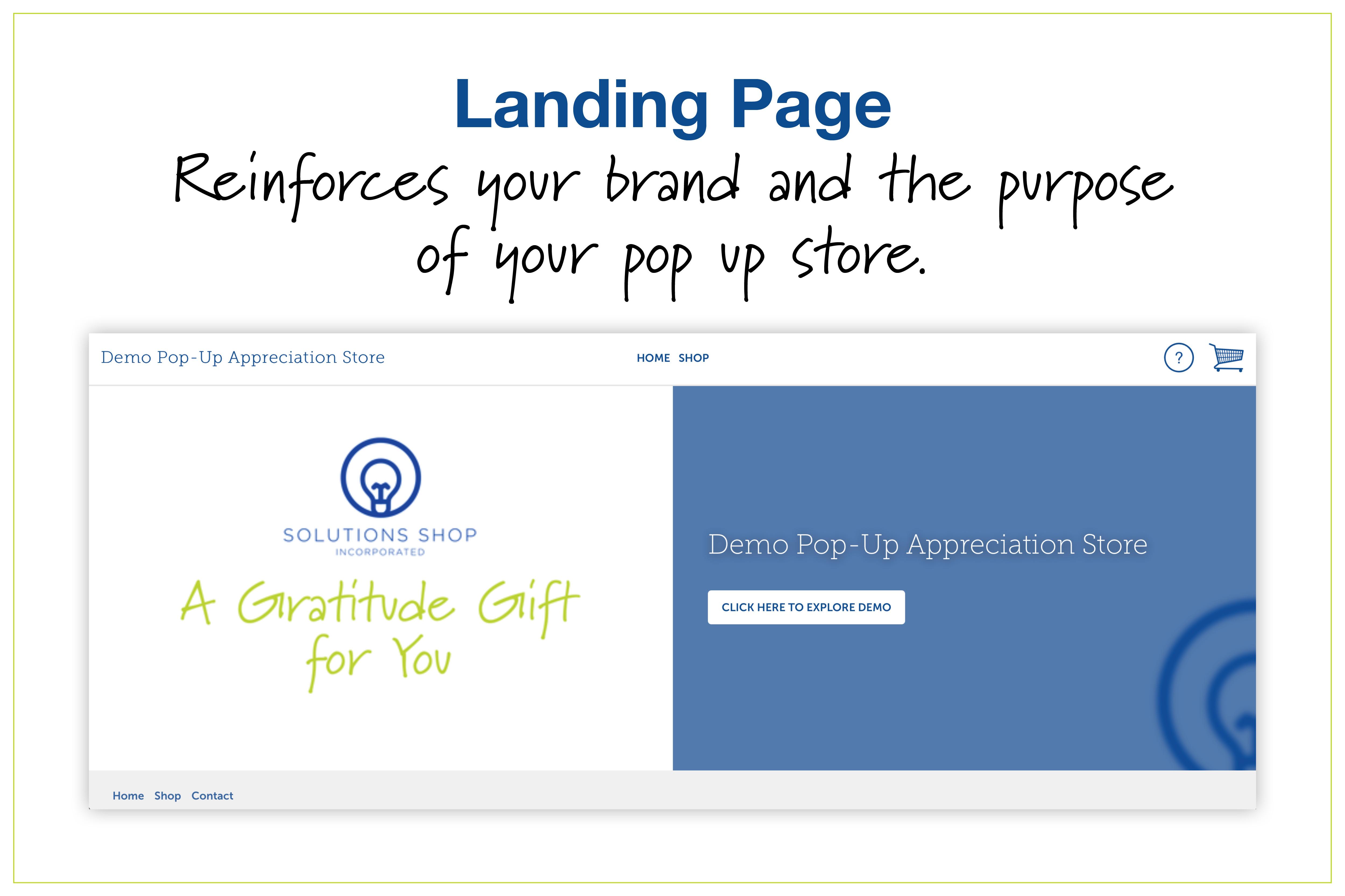 pop up store landing page_callard